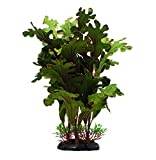ZAZALUM Artificial Aquarium Silk Plants, Fish Tank Green Decoration Aquatic Water Grass Ornament with Ceramic Base, Lobelia-green-12in Photo, best price $8.99 new 2020