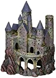 Penn Plax Wizard's Castle Aquarium Decoration Hand Painted With Realistic Details Over 10 Inches High Photo, best price $20.50 new 2018