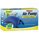 Whisper Air Pump, 100-Gallon Aquariums by Tetra Photo, best price $27.94 new 2019
