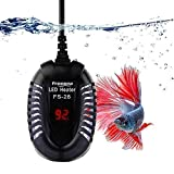 FREESEA Small Aquarium Betta Submersible Heater with LED Temperature Display (50-300Watt) Photo, best price $23.80 new 2019