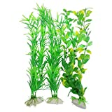 CNZ 3-piece Aquarium Plastic Artificial Plants, 9.8-inch Tall Photo, best price $5.31 new 2019