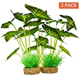 Aquarium Plants Decoration,Artificial Plants for Fish Tank,10 Inches/25cm High,2 Pack Photo, best price $22.99 new 2019